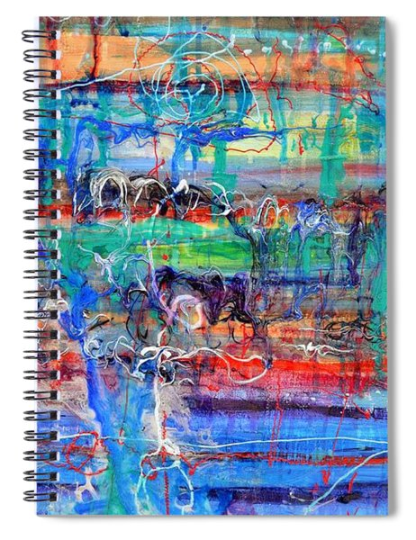 Convection Diffusion Spiral Notebook