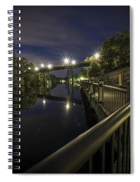 Conway Riverwalk Morning Spiral Notebook