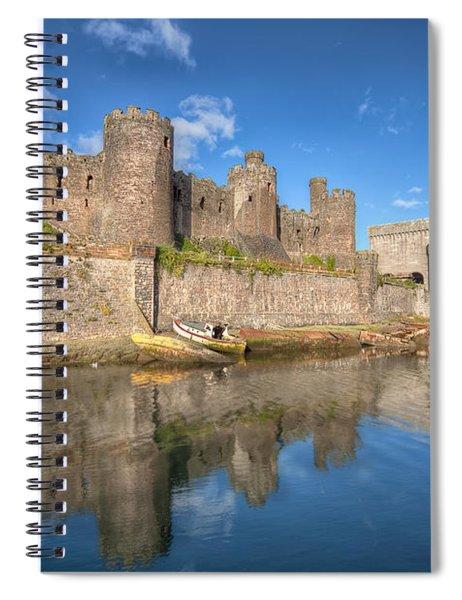 Conwy Castle Spiral Notebook