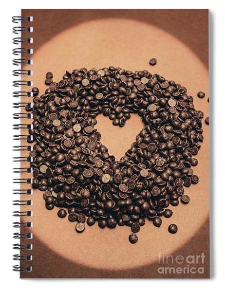 Cooking Desserts With Love  Spiral Notebook