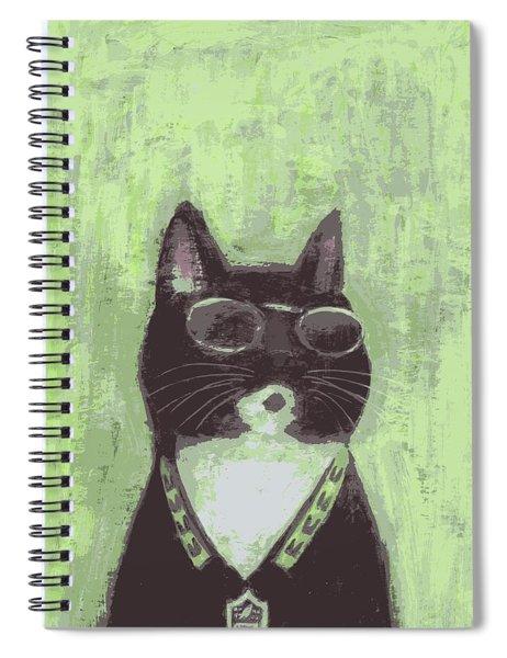 Cool Cat #2 Spiral Notebook