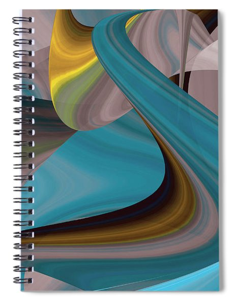 Cool Curvelicious Spiral Notebook