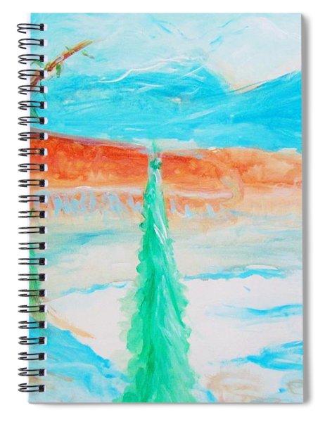Cool Landscape Spiral Notebook