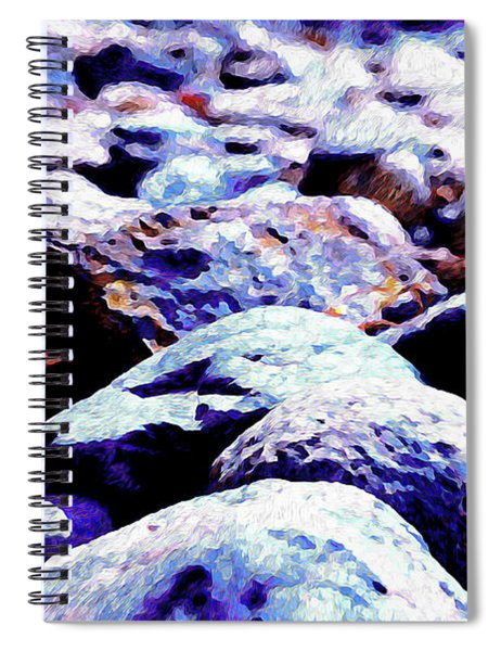 Cool Rocks- Spiral Notebook
