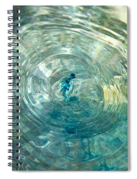 Cool Water Spiral Notebook