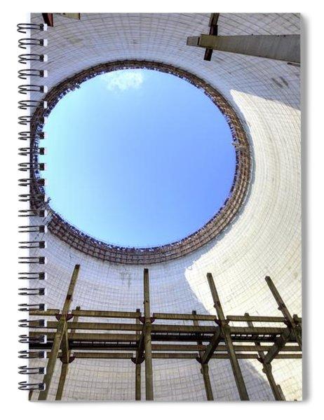 Cooling Tank Spiral Notebook