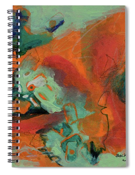 Cooling Trend Spiral Notebook