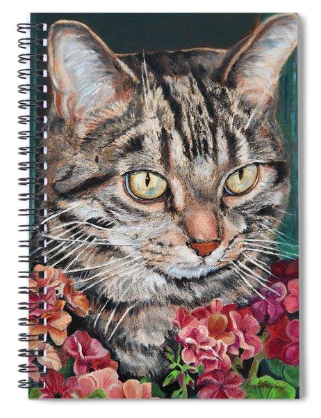 Cooper The Cat Spiral Notebook