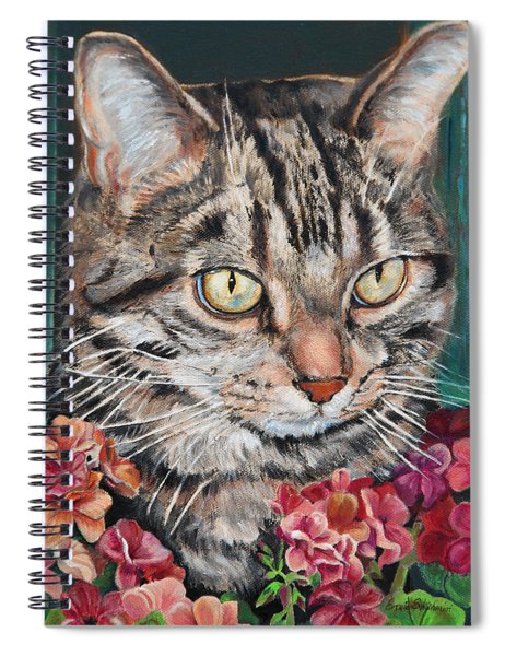 Cooper The Cat Spiral Notebook