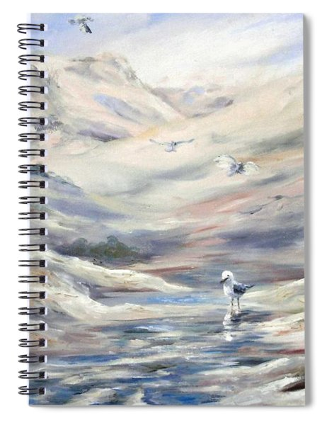 Coorong, South Australia. Spiral Notebook