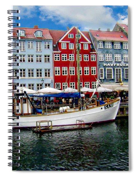 Copenhagen - Denmark Spiral Notebook