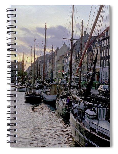 Copenhagen Quay Spiral Notebook