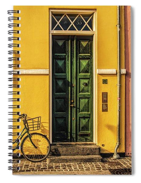 Copenhagen Transportation Spiral Notebook