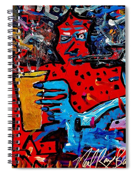 Coper Pipe Ale Spiral Notebook