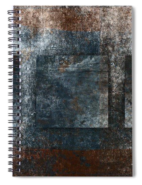 Copper Finish 3 Spiral Notebook