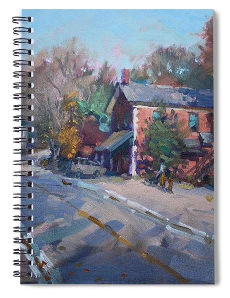 Copper Kettle Pub In Glen Williams On Spiral Notebook