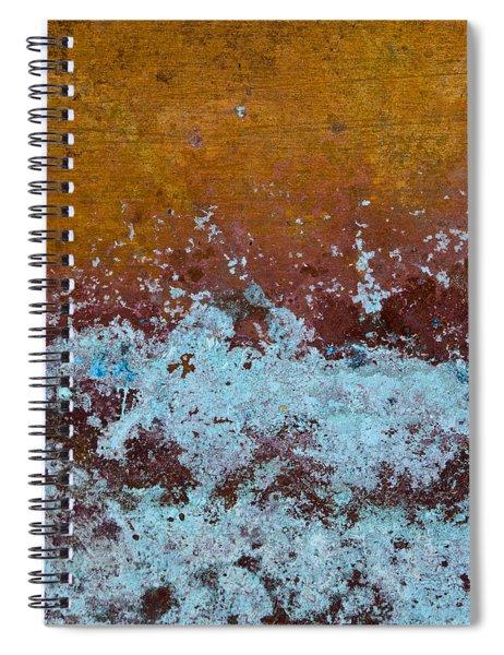Copper Patina Spiral Notebook