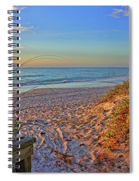Coquina Beach By H H Photography Of Florida  Spiral Notebook