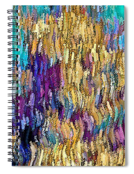 Coral Salad Spiral Notebook