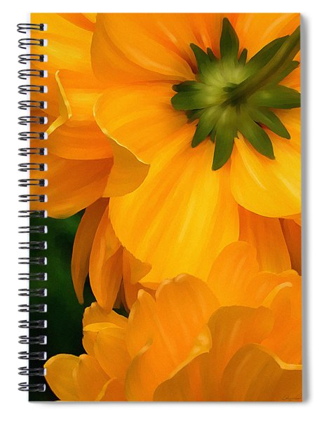 Coreopsis Spiral Notebook