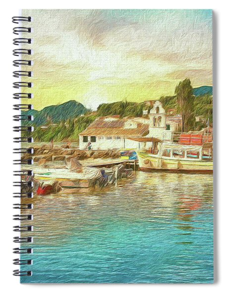 Corfu 30 My Passion Paintography Spiral Notebook
