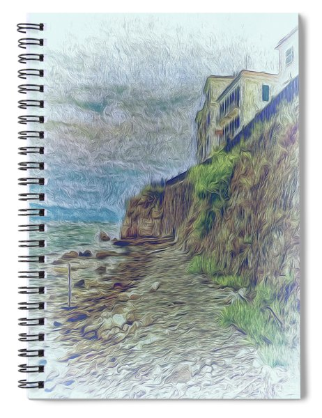 Corfu 33 - Corfu Rocks Spiral Notebook