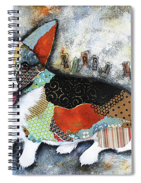 Corgi 2 Spiral Notebook