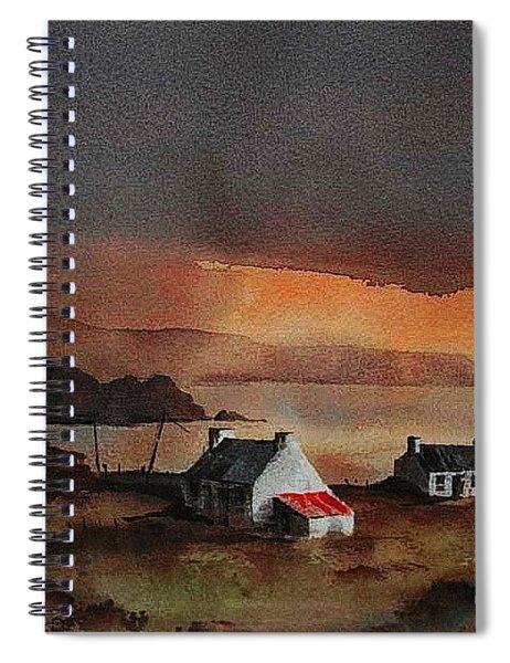 Cork... Beara Sunset Near Allihies Spiral Notebook
