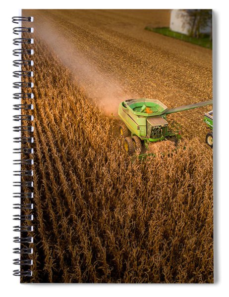 Corn Dust Spiral Notebook