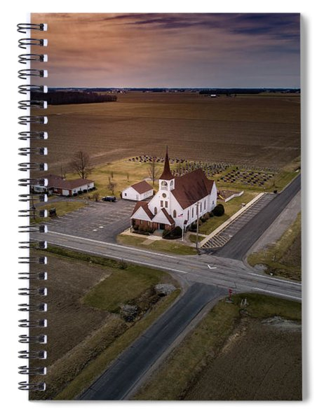 Corner Church Spiral Notebook