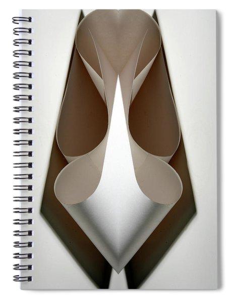 Cornered Curves Spiral Notebook