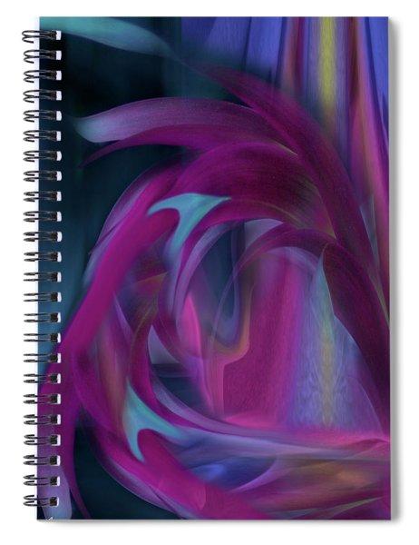 Cornflower Life Cycle Spiral Notebook