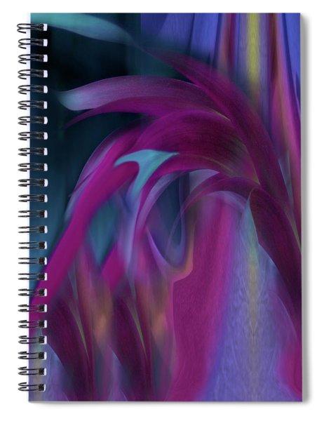 Cornflower Reflections Spiral Notebook