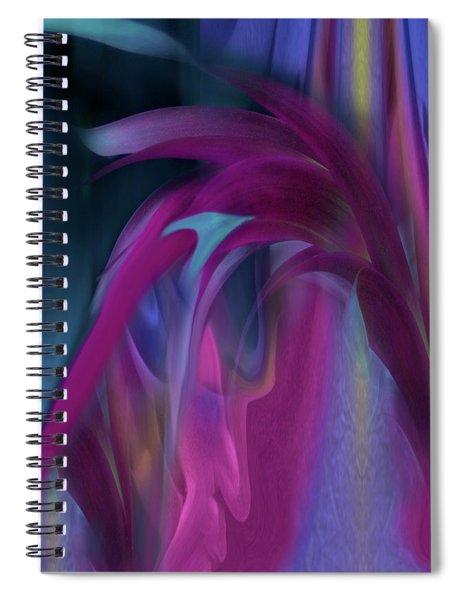 Cornflower Rising Spiral Notebook