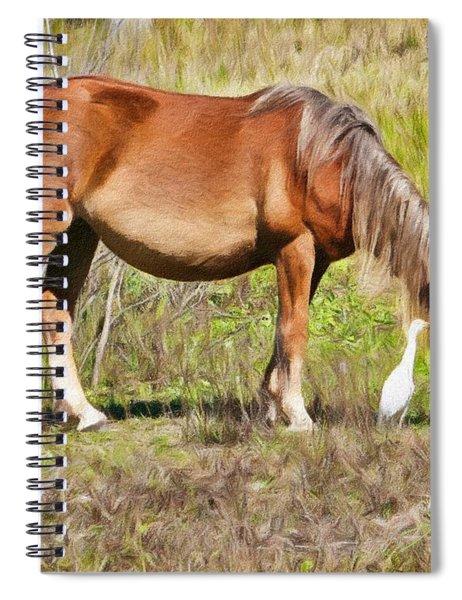Corolla's Wild Horses Spiral Notebook