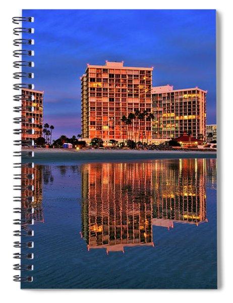 Coronado Glass Spiral Notebook
