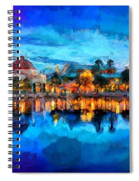 Coronado Springs Resort Spiral Notebook