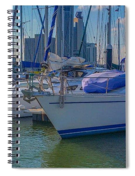 Corpus Christi Marina Spiral Notebook
