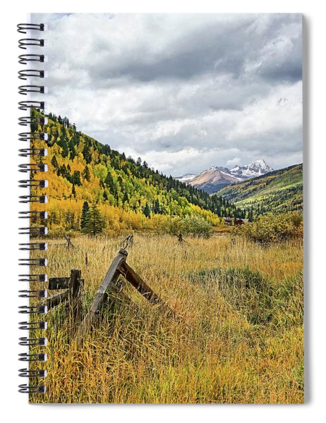 Corral Remains Spiral Notebook