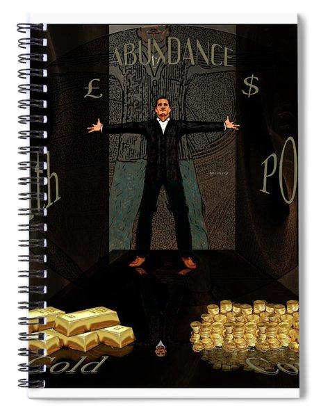 Corridor Of Wealth Spiral Notebook