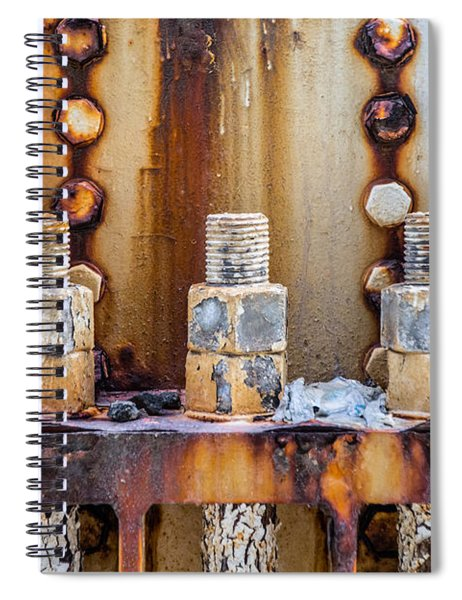 Corrosion Spiral Notebook