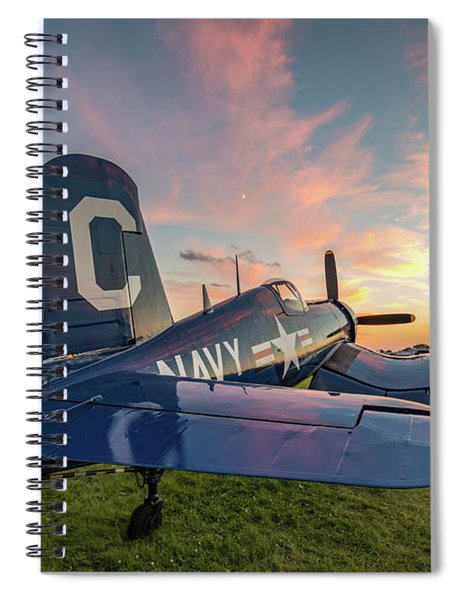 Corsair Sunset Spiral Notebook