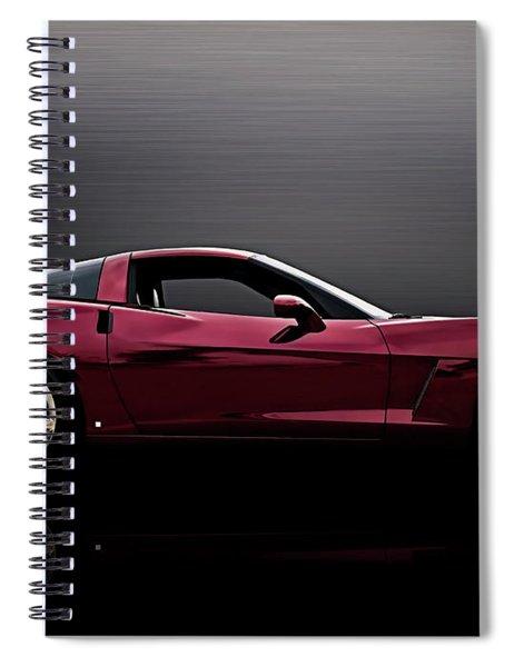 Corvette Reflections Spiral Notebook