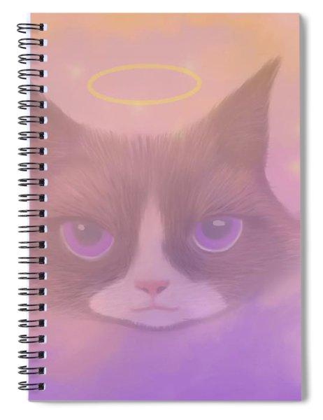 Cosmic Cat Spiral Notebook
