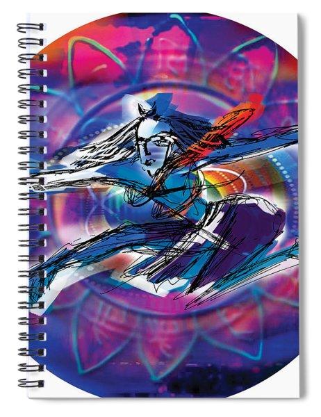 Cosmic Shiva Speed Spiral Notebook