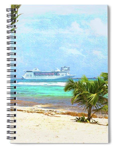 Costa Maya Spiral Notebook