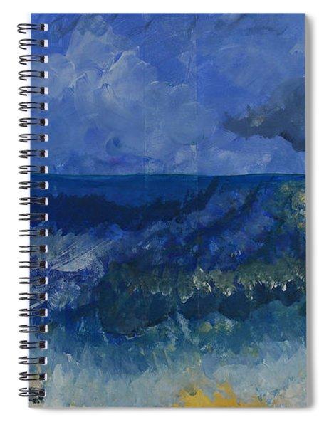Costa Rica Beach Spiral Notebook