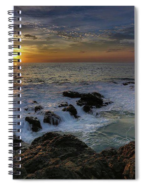 Costa Rica Sunrie Spiral Notebook
