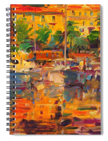 Cote D'azur Reflections Spiral Notebook