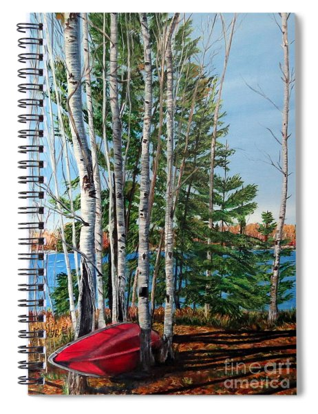 Cottage Country 2 Spiral Notebook